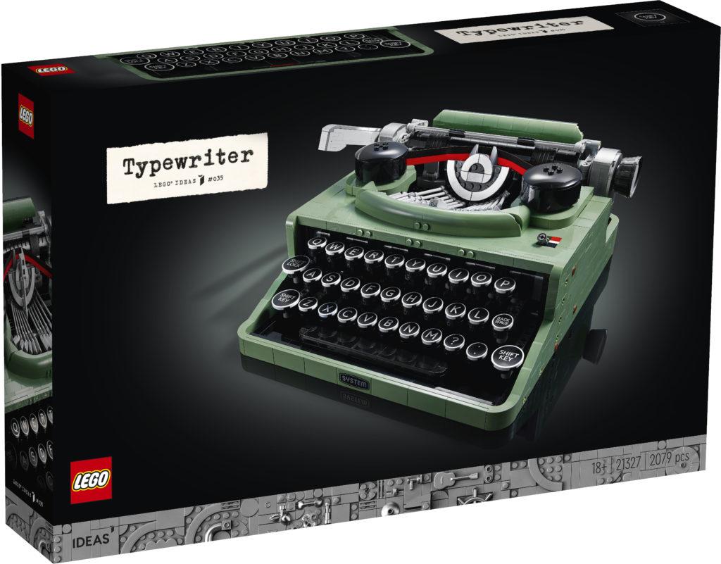 LEGO Ideas 21327 Typewriter box 1
