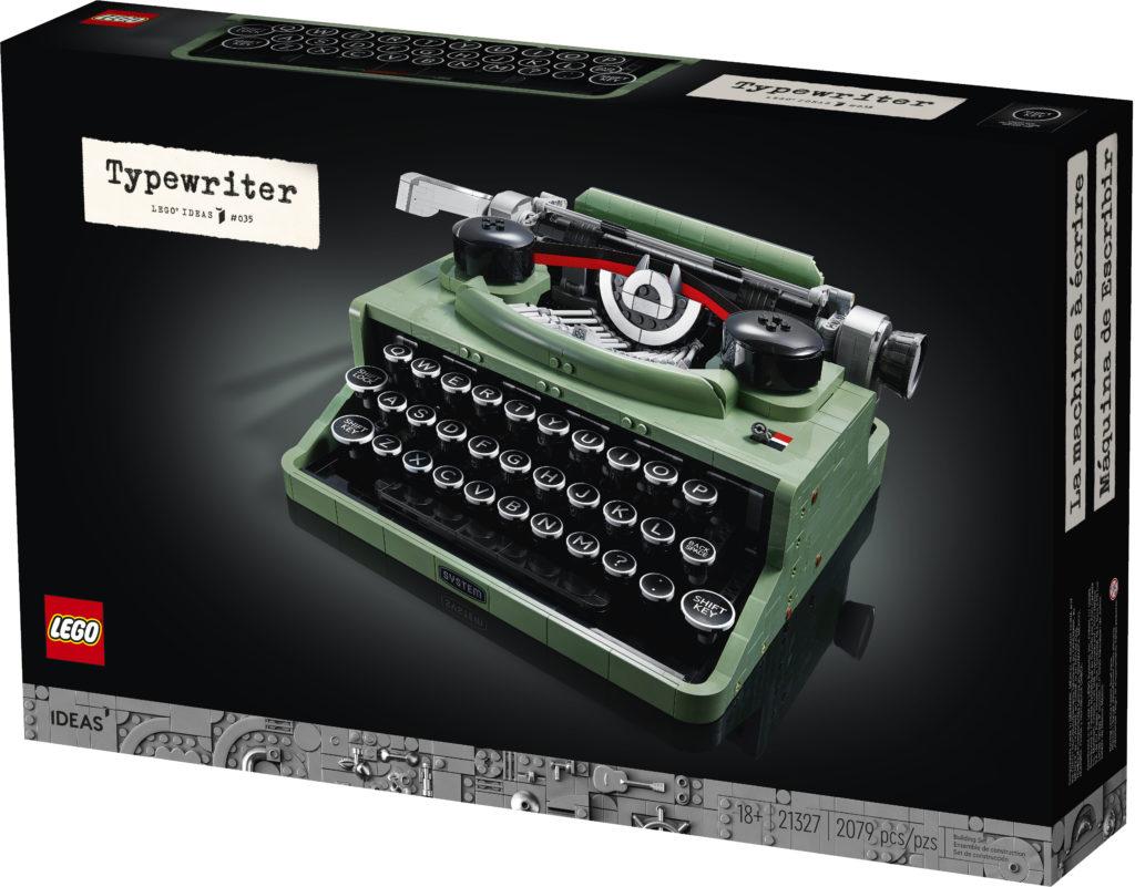 LEGO Ideas 21327 Typewriter box 2