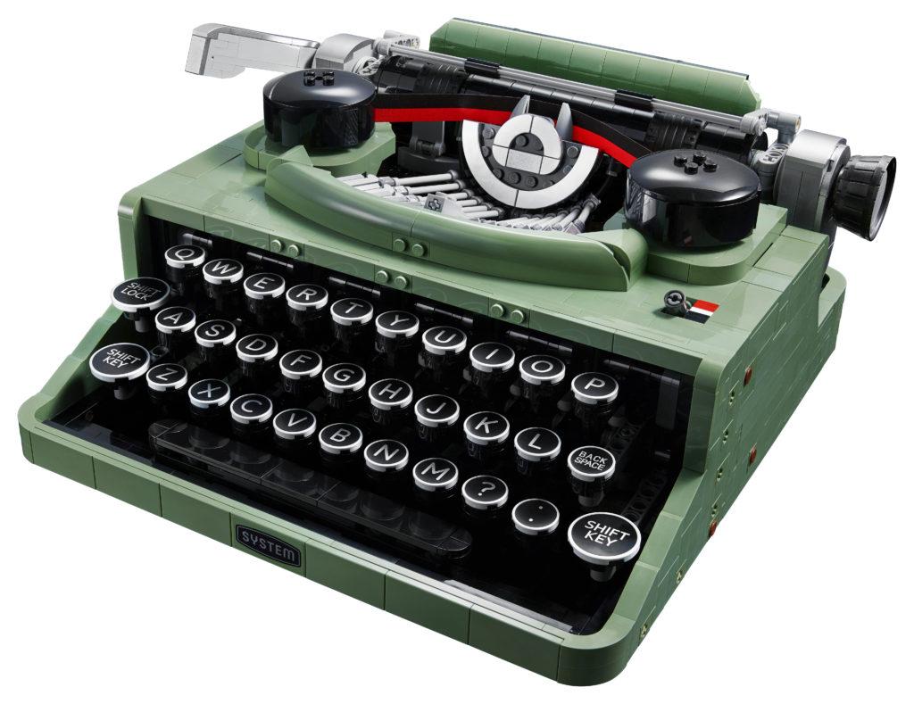 LEGO Ideas 21327 Typewriter contents 1