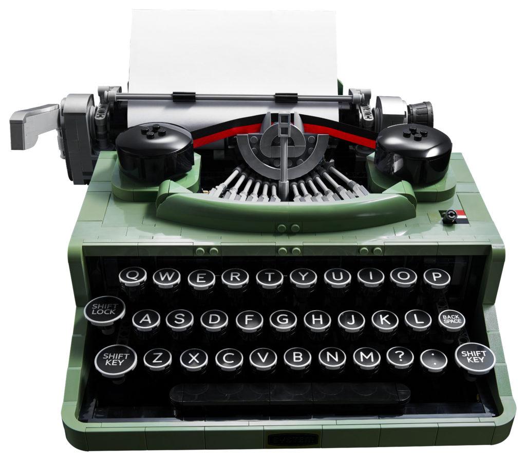 LEGO Ideas 21327 Typewriter contents 2