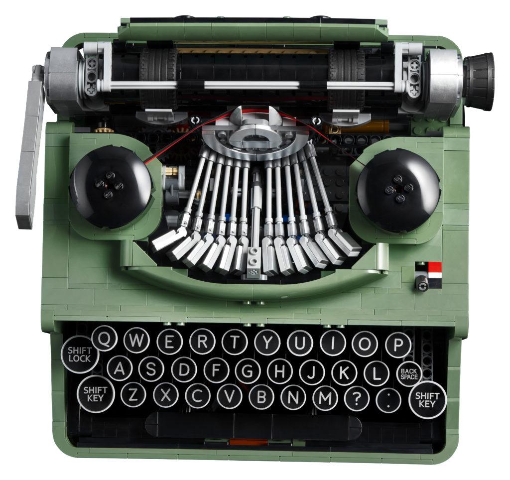 LEGO Ideas 21327 Typewriter contents 3