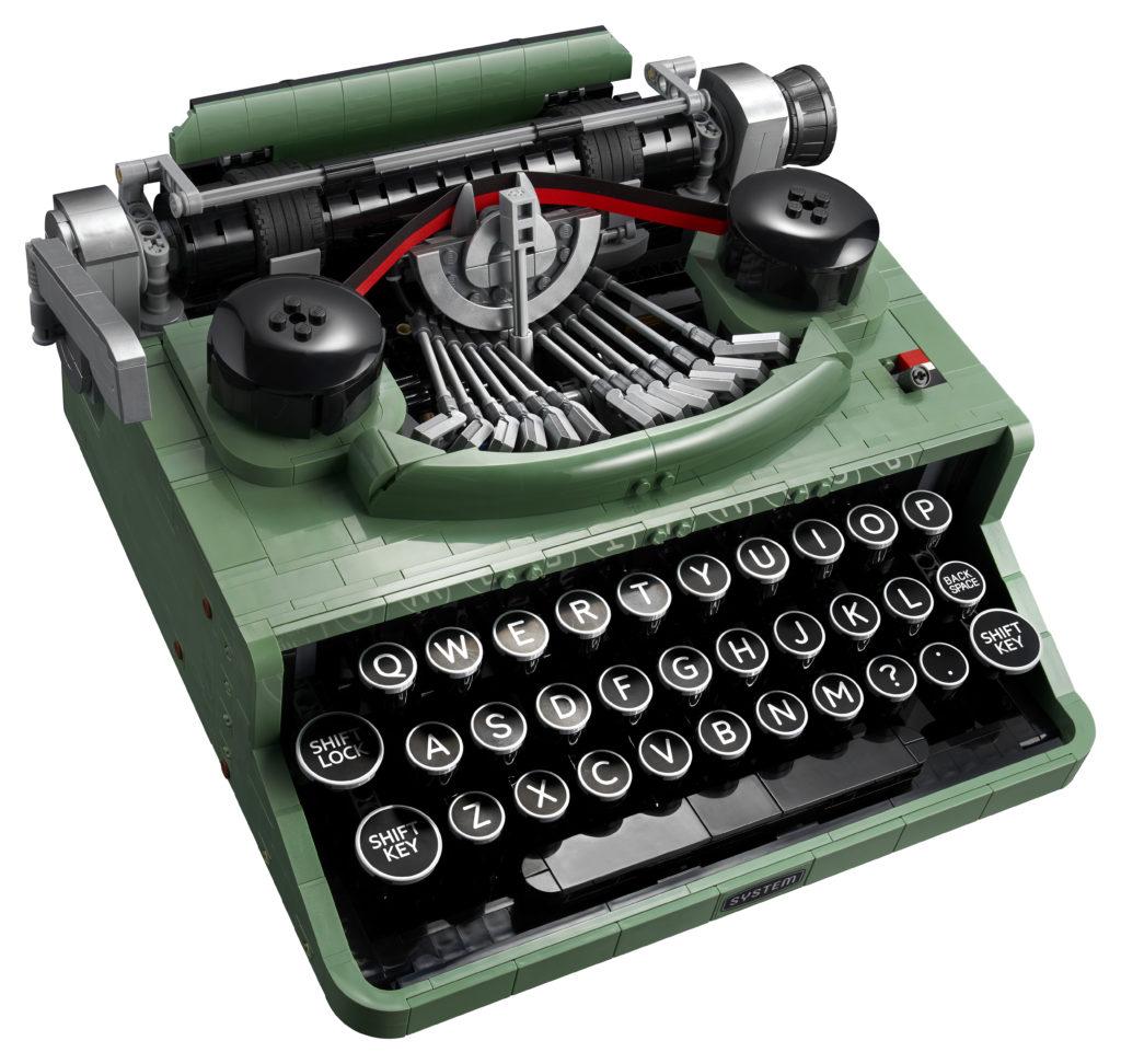 LEGO Ideas 21327 Typewriter contents 4