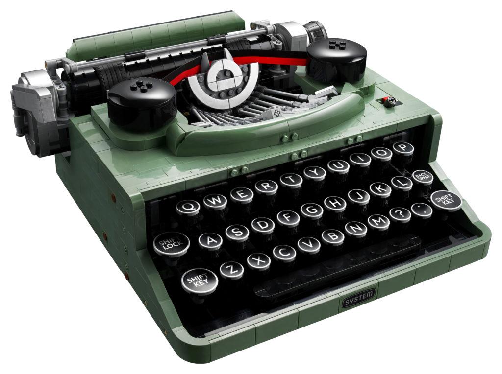 LEGO Ideas 21327 Typewriter contents