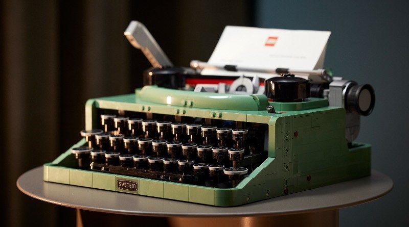 LEGO Ideas 21327 Typewriter lifestyle featured 1