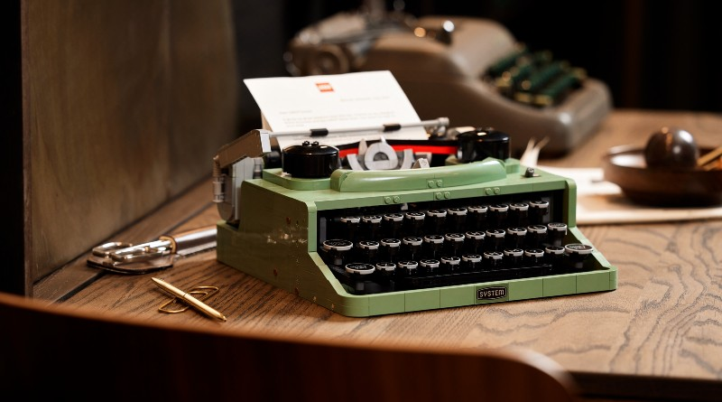 LEGO Ideas 21327 Typewriter Lifestyle Featured 2