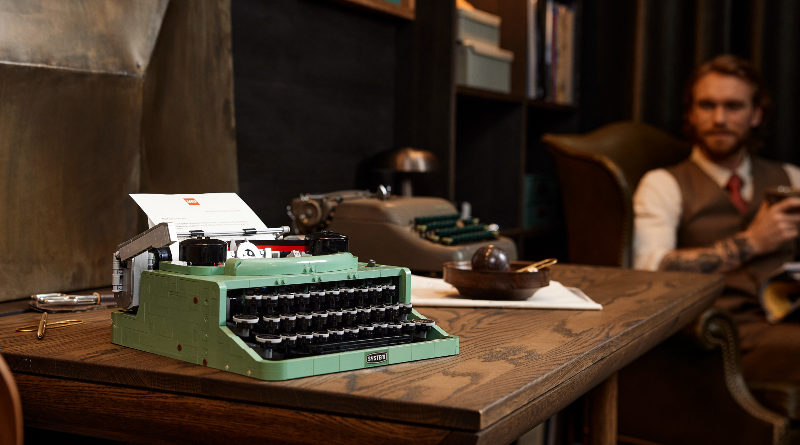 LEGO Ideas 21327 Typewriter lifestyle featured 5