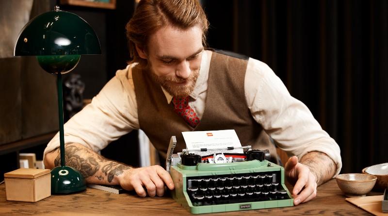 LEGO Ideas 21327 Typewriter Lifestyle Featured 6