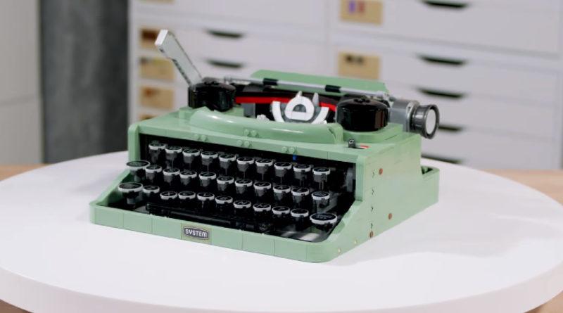 LEGO Ideas 21327 typewriter designer video featured