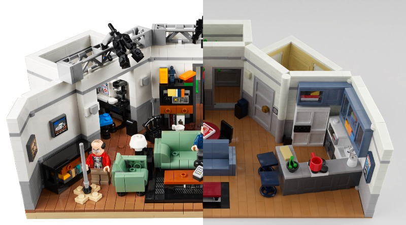 LEGO Ideas 21328 Seinfeld Finished Set And Fan Design Featured