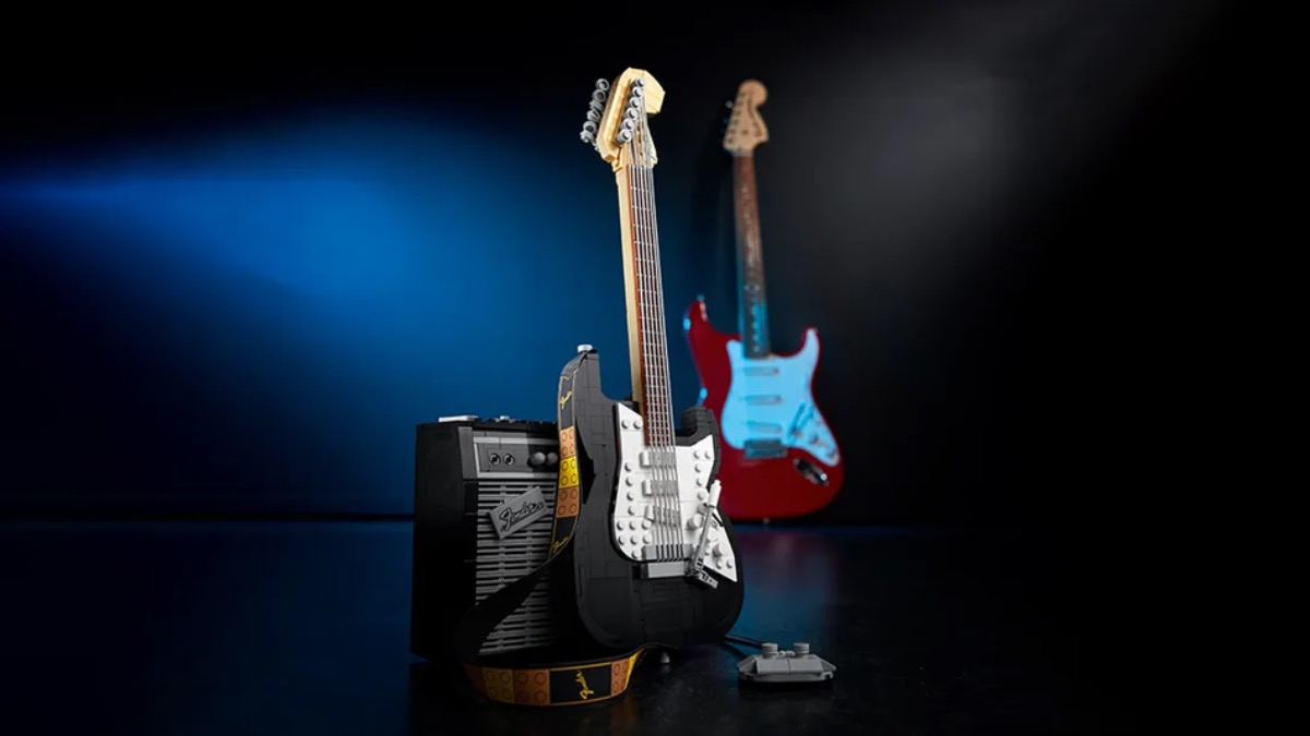 LEGO Ideas 21329 Fender Stratocaster Featured 5