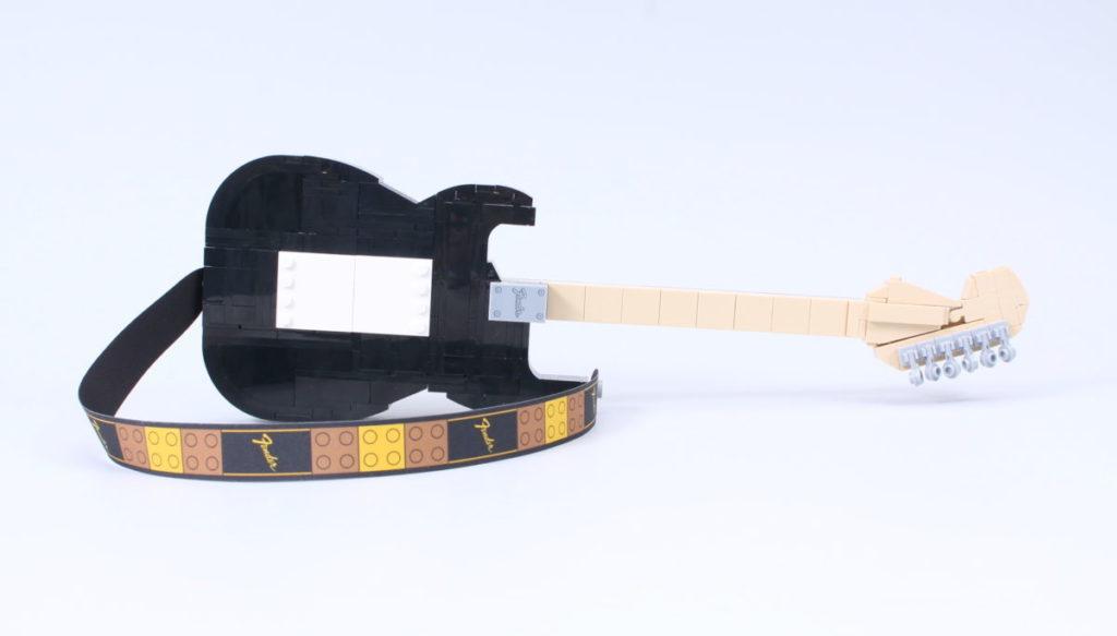 LEGO Ideas 21329 Fender Stratocaster review 13