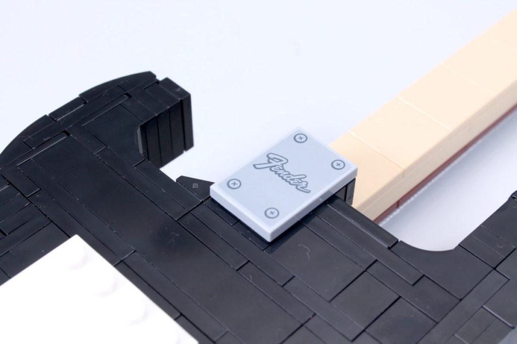 LEGO Ideas 21329 Fender Stratocaster review 14