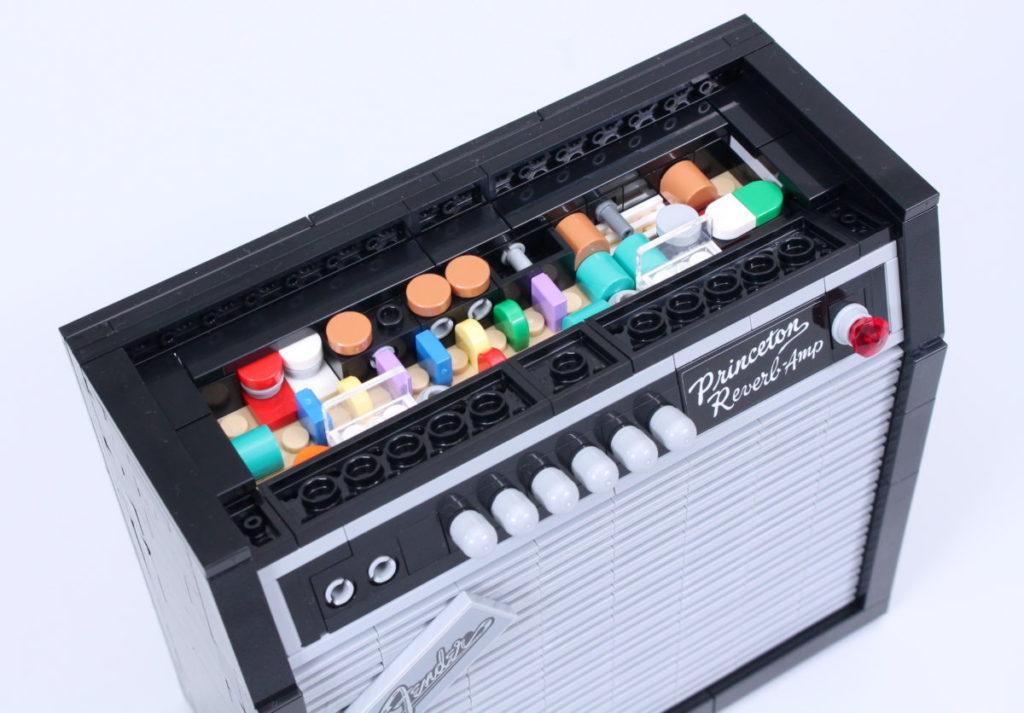LEGO Ideas 21329 Fender Stratocaster review 25
