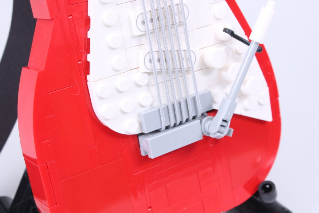 LEGO Ideas 21329 Fender Stratocaster review 33