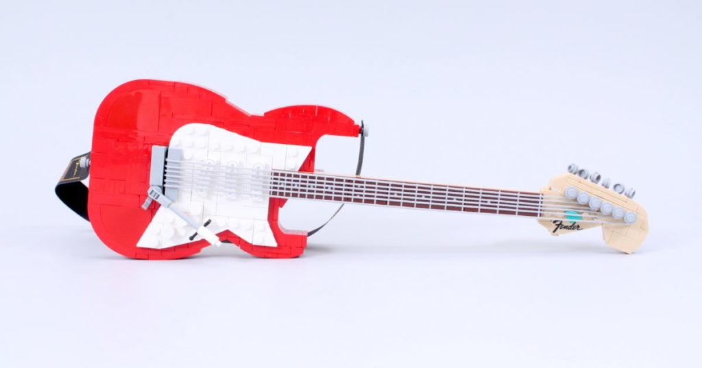 LEGO Ideas 21329 Fender Stratocaster review 34