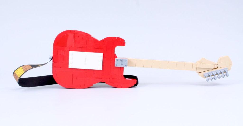 LEGO Ideas 21329 Fender Stratocaster review 38