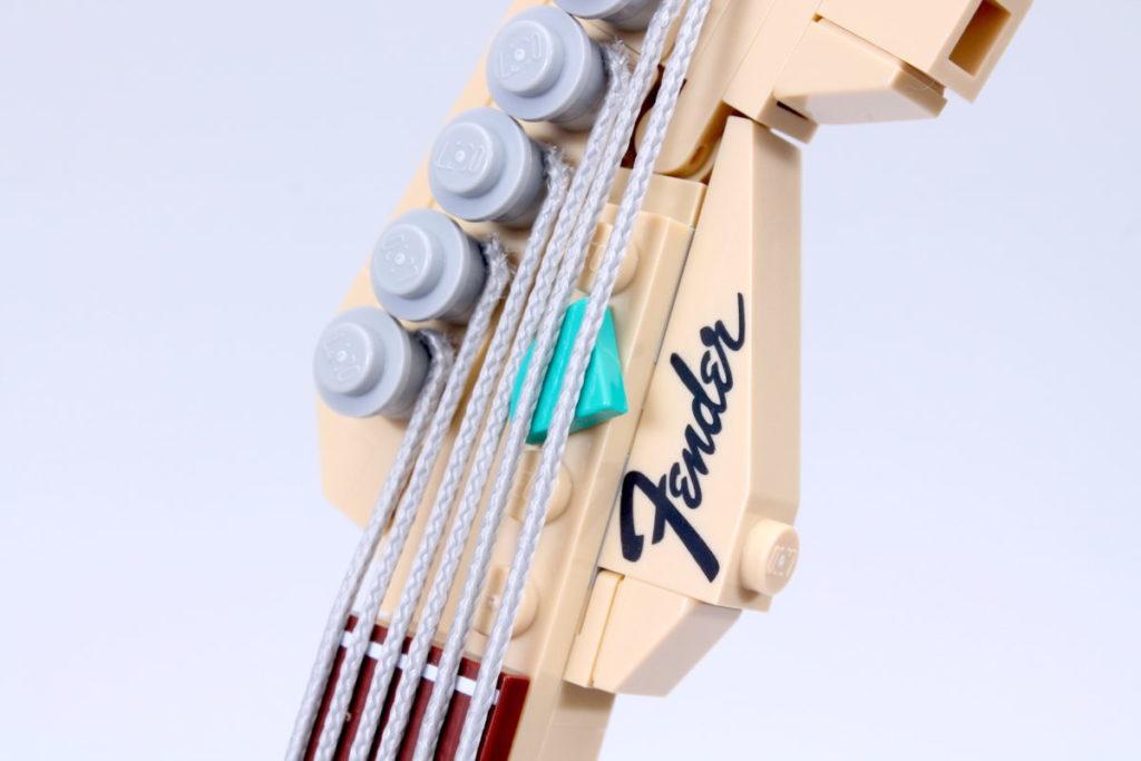 LEGO Ideas 21329 Fender Stratocaster review 44