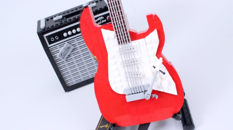 LEGO Ideas 21329 Fender Stratocaster review featured