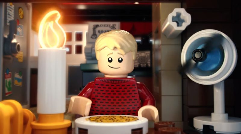LEGO Ideas 21330 Home Alone music video featured