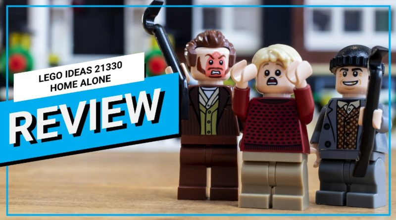 LEGO Ideas 21330 Home Alone video review featured