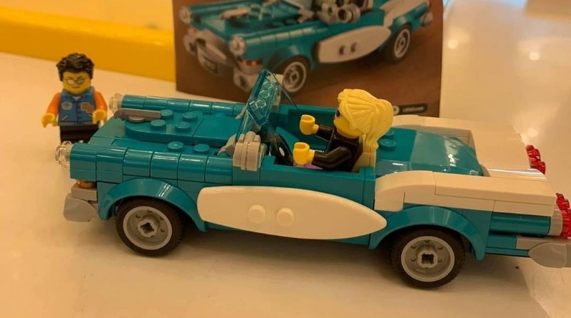 LEGO Ideas 40448 Vintage Car In Store Featured
