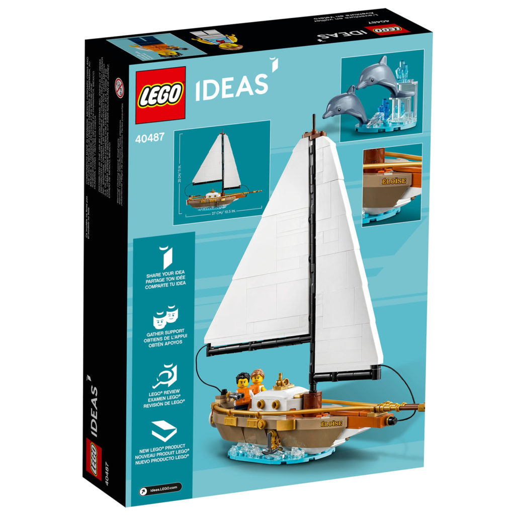 LEGO Ideas 40487 Sailboat Adventure 2