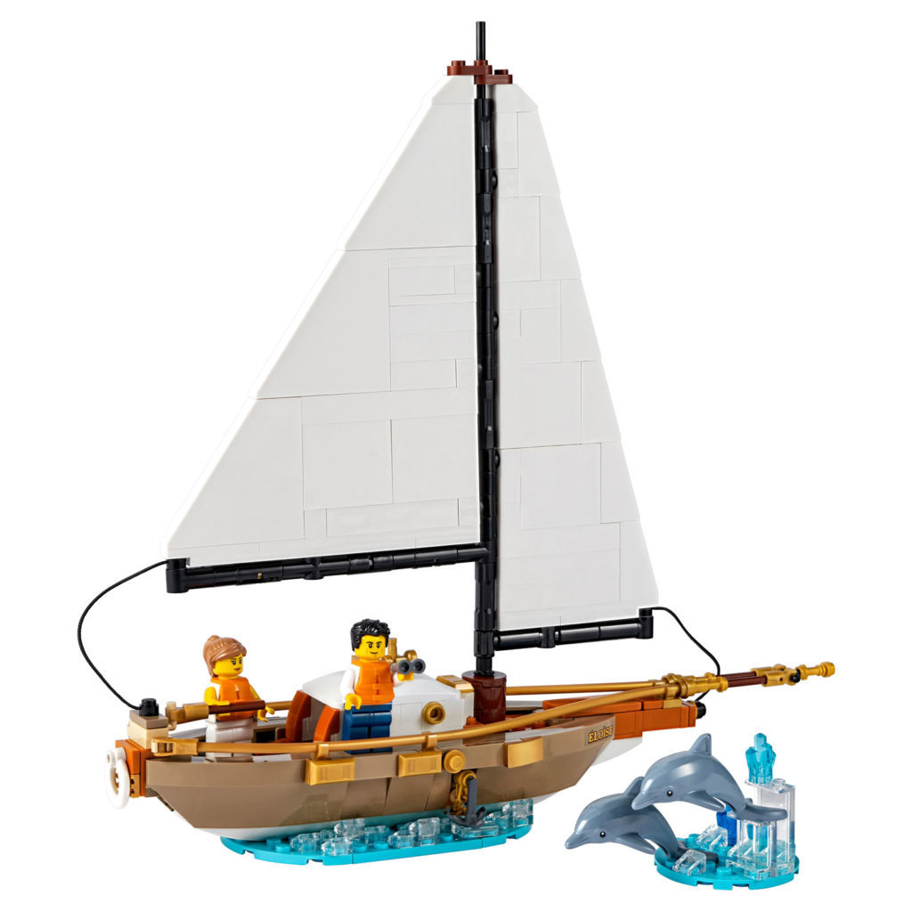 LEGO Ideas 40487 Sailboat Adventure 3