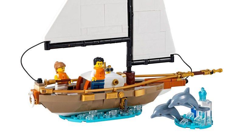 LEGO Ideas 40487 Sailboat Adventure featured 1