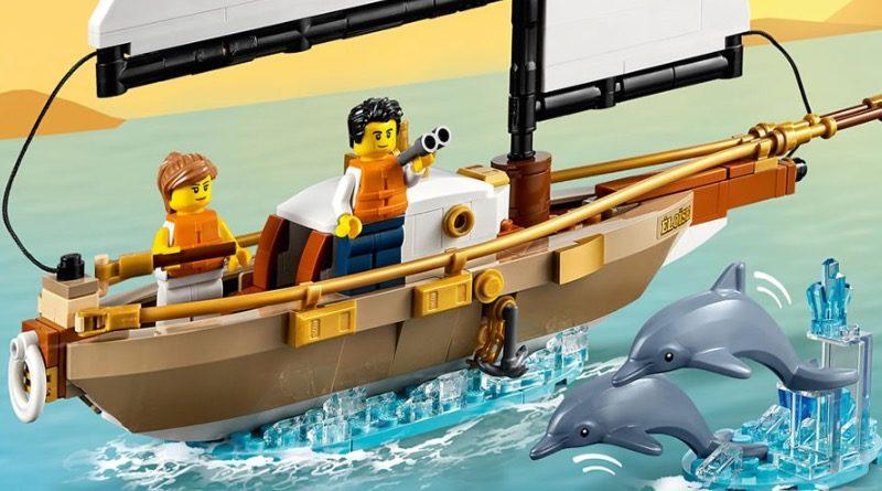 LEGO Ideas 40487 Sailboat Adventure featured 2