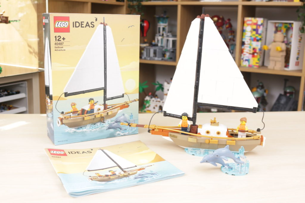 LEGO Ideas 40487 Sailboat Adventure gift with purchase review 1