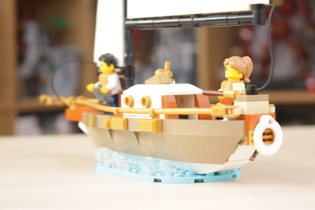 LEGO Ideas 40487 Sailboat Adventure gift with purchase review 12