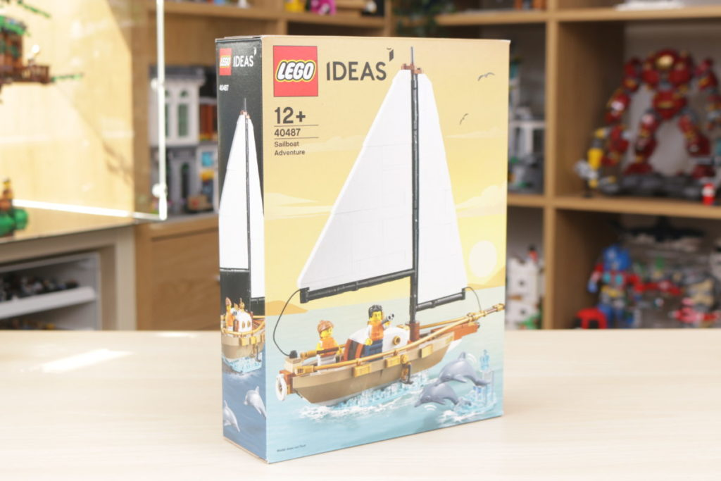 LEGO Ideas 40487 Sailboat Adventure gift with purchase review 2