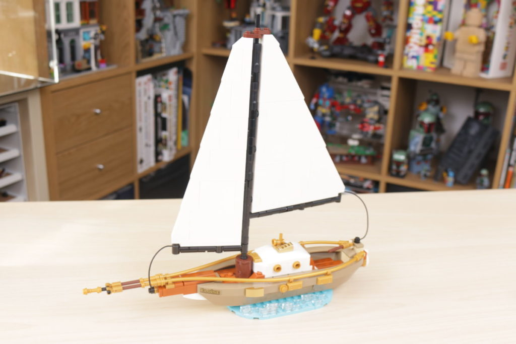 LEGO Ideas 40487 Sailboat Adventure gift with purchase review 20