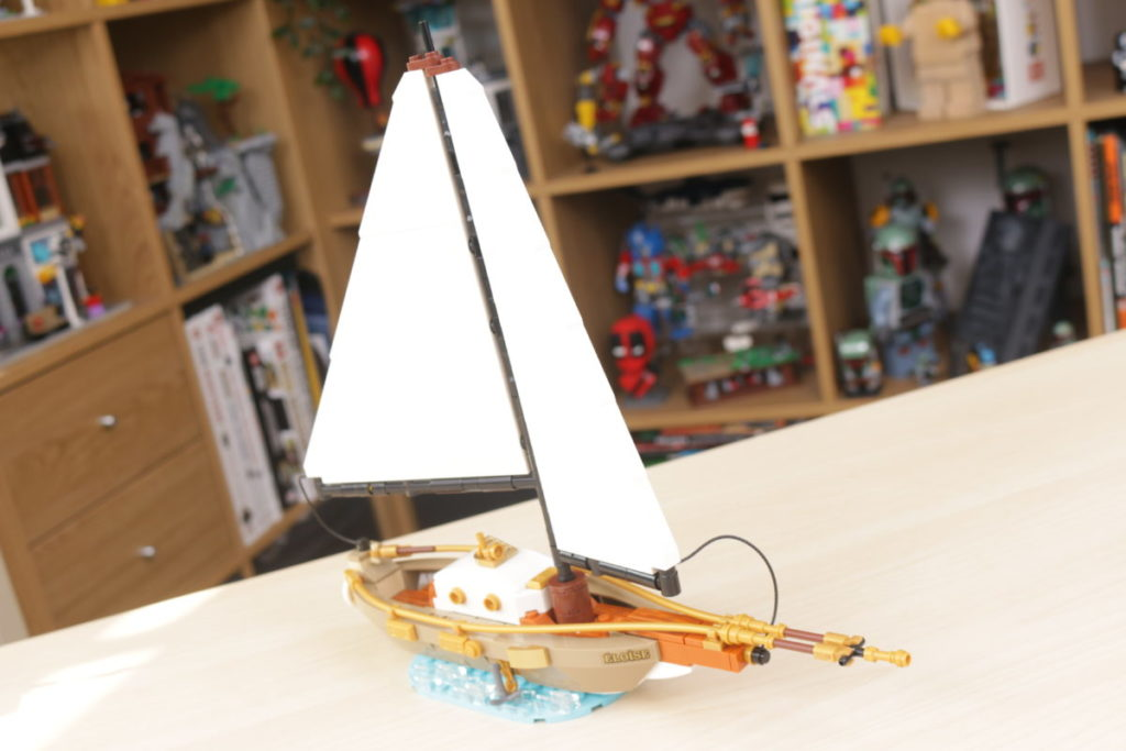 LEGO Ideas 40487 Sailboat Adventure gift with purchase review 21