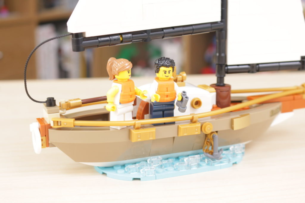 LEGO Ideas 40487 Sailboat Adventure gift with purchase review 22