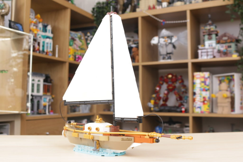 LEGO Ideas 40487 Sailboat Adventure gift with purchase review 23