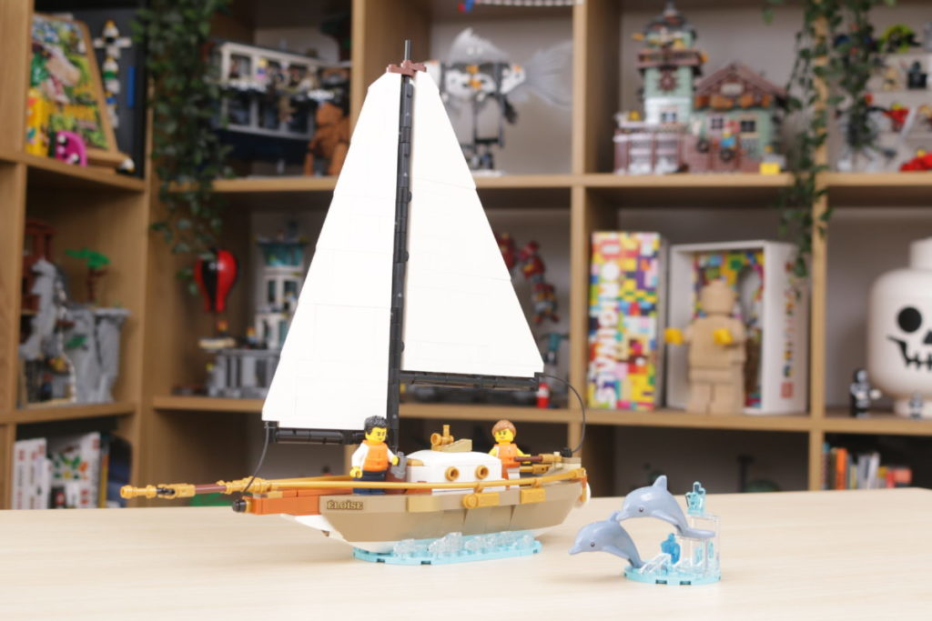 LEGO Ideas 40487 Sailboat Adventure gift with purchase review 25