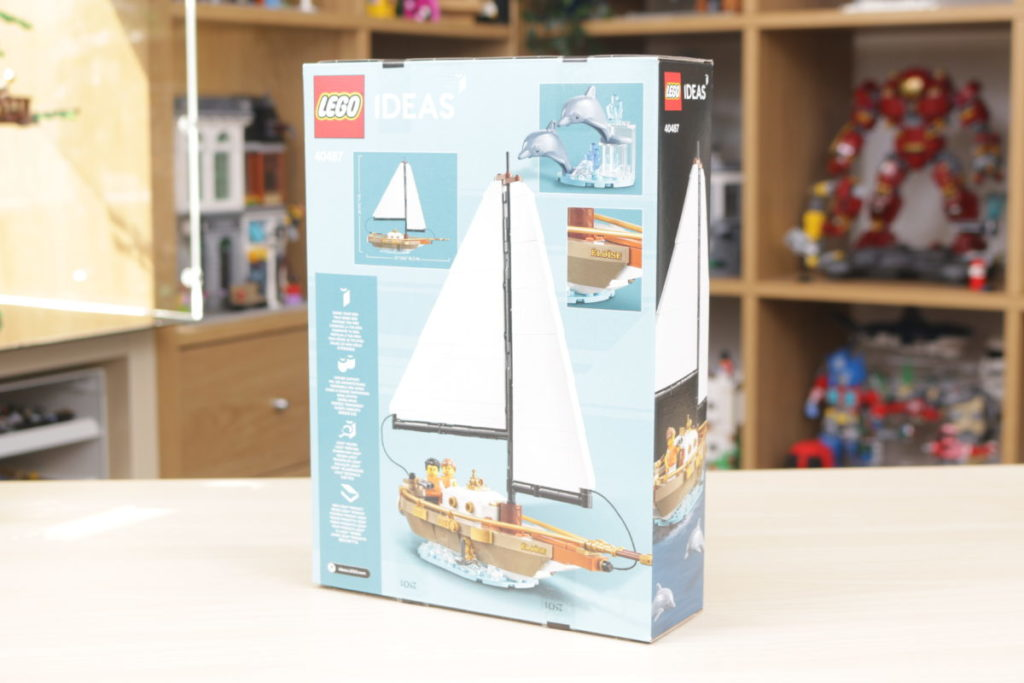 LEGO Ideas 40487 Sailboat Adventure gift with purchase review 3