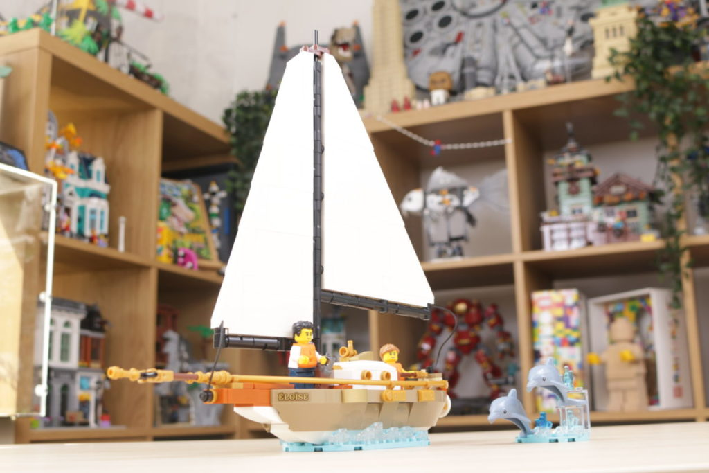LEGO Ideas 40487 Sailboat Adventure gift with purchase review 4