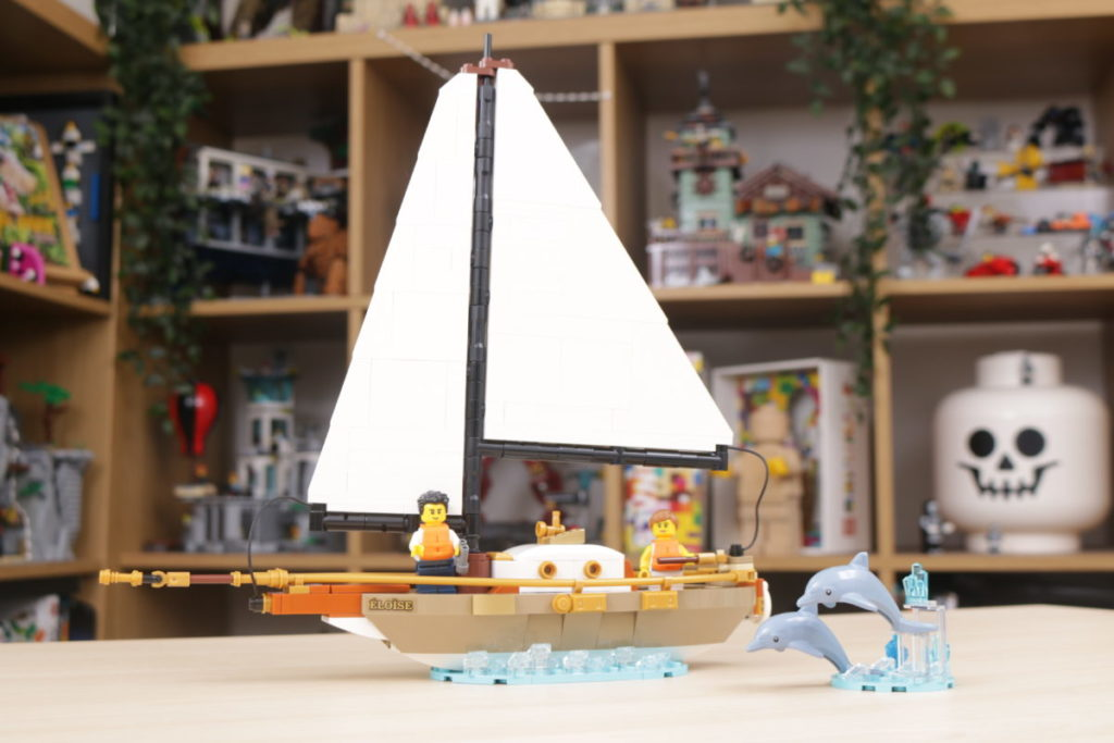 LEGO Ideas 40487 Sailboat Adventure gift with purchase review 5