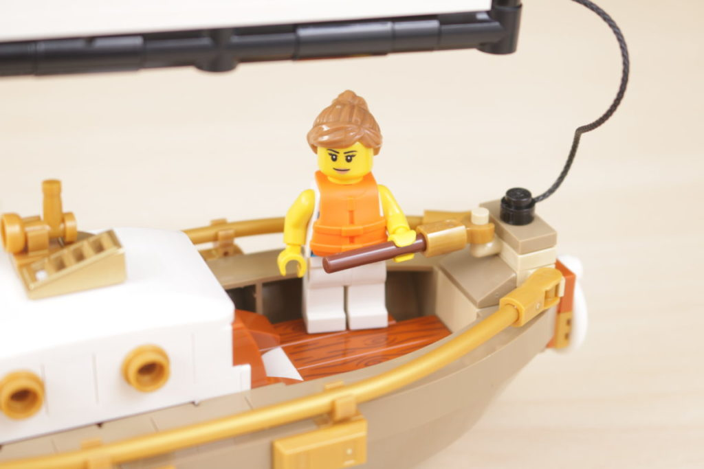LEGO Ideas 40487 Sailboat Adventure gift with purchase review 6i