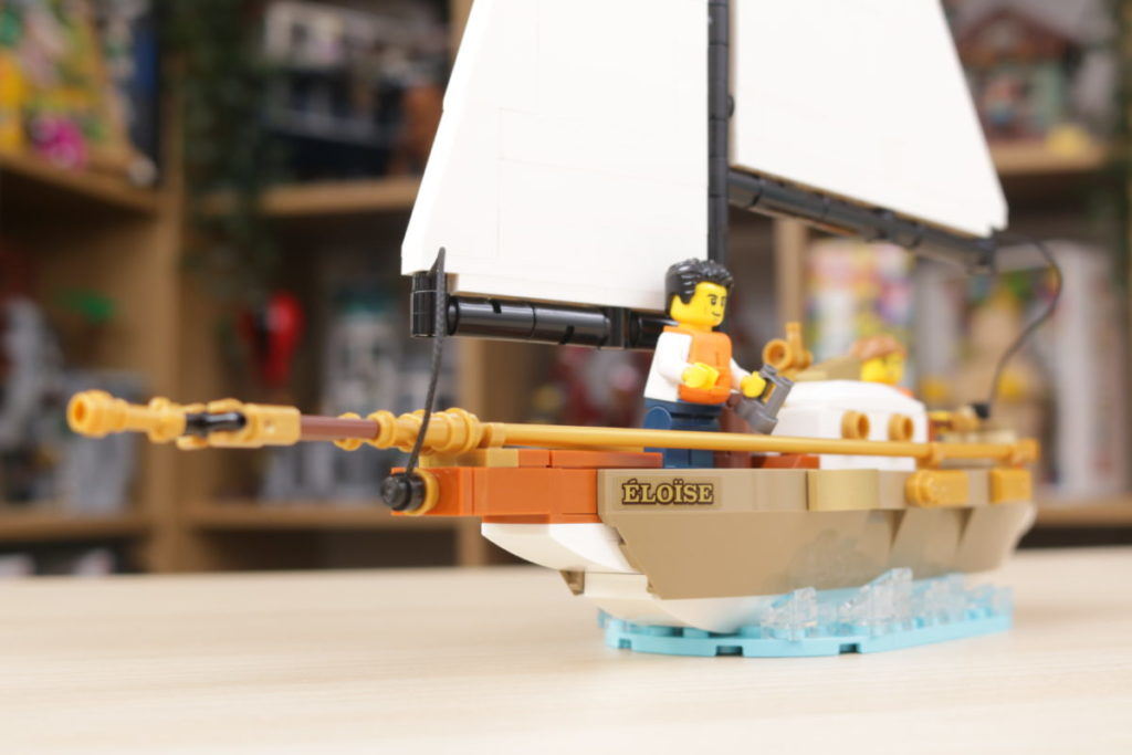 LEGO Ideas 40487 Sailboat Adventure gift with purchase review 8
