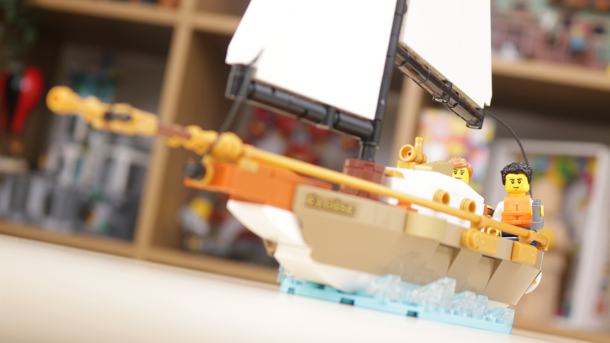 LEGO Ideas 40487 Sailboat Adventure Gift With Purchase Review Title