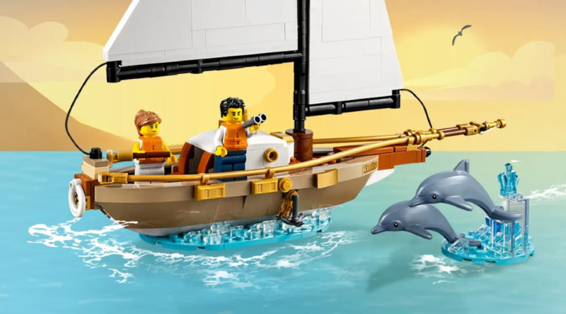 LEGO Ideas 40487 Sailboat Adventure promotional image resized featured