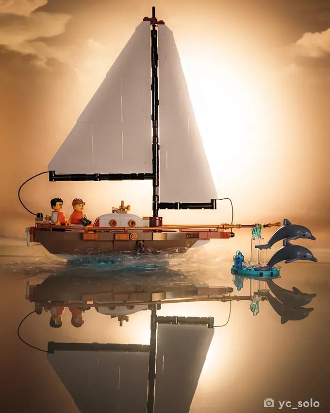 LEGO Ideas 40487 Sailboat Adventure yc solo 2