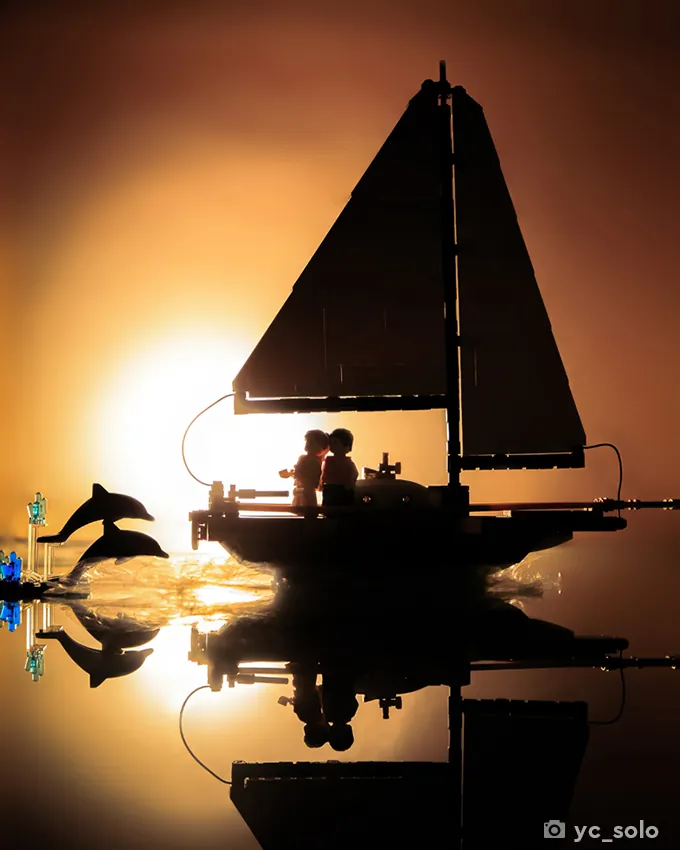 LEGO Ideas 40487 Sailboat Adventure yc solo 3