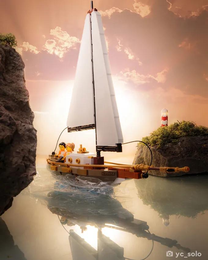 LEGO Ideas 40487 Sailboat Adventure yc solo