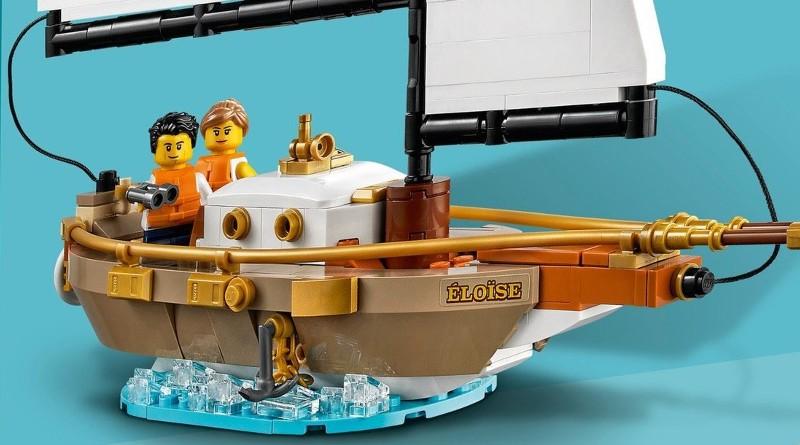 LEGO Ideas 40487 Sailboat Adventure Box Back Featured