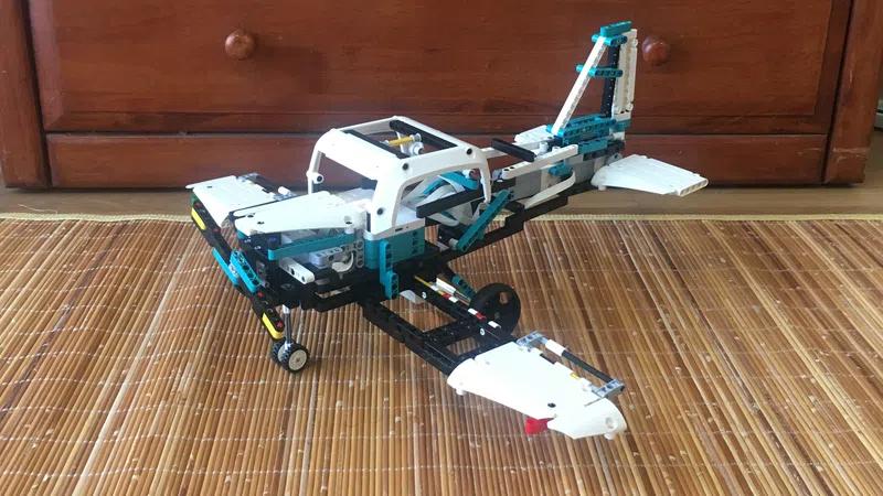 LEGO Ideas 5portsplane