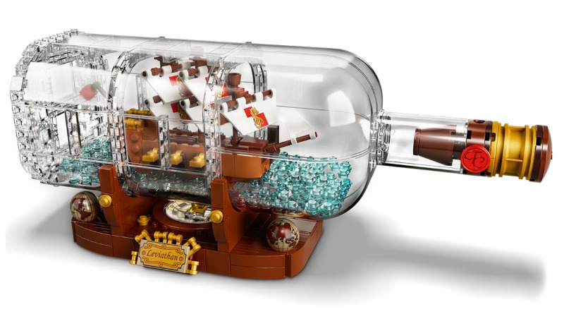 LEGO Ideas 92177 Ship In A Bottle Featured 2